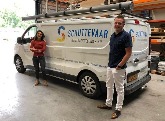 Schuttevaar Installatietechniek now has access to the planning anytime, anywhere