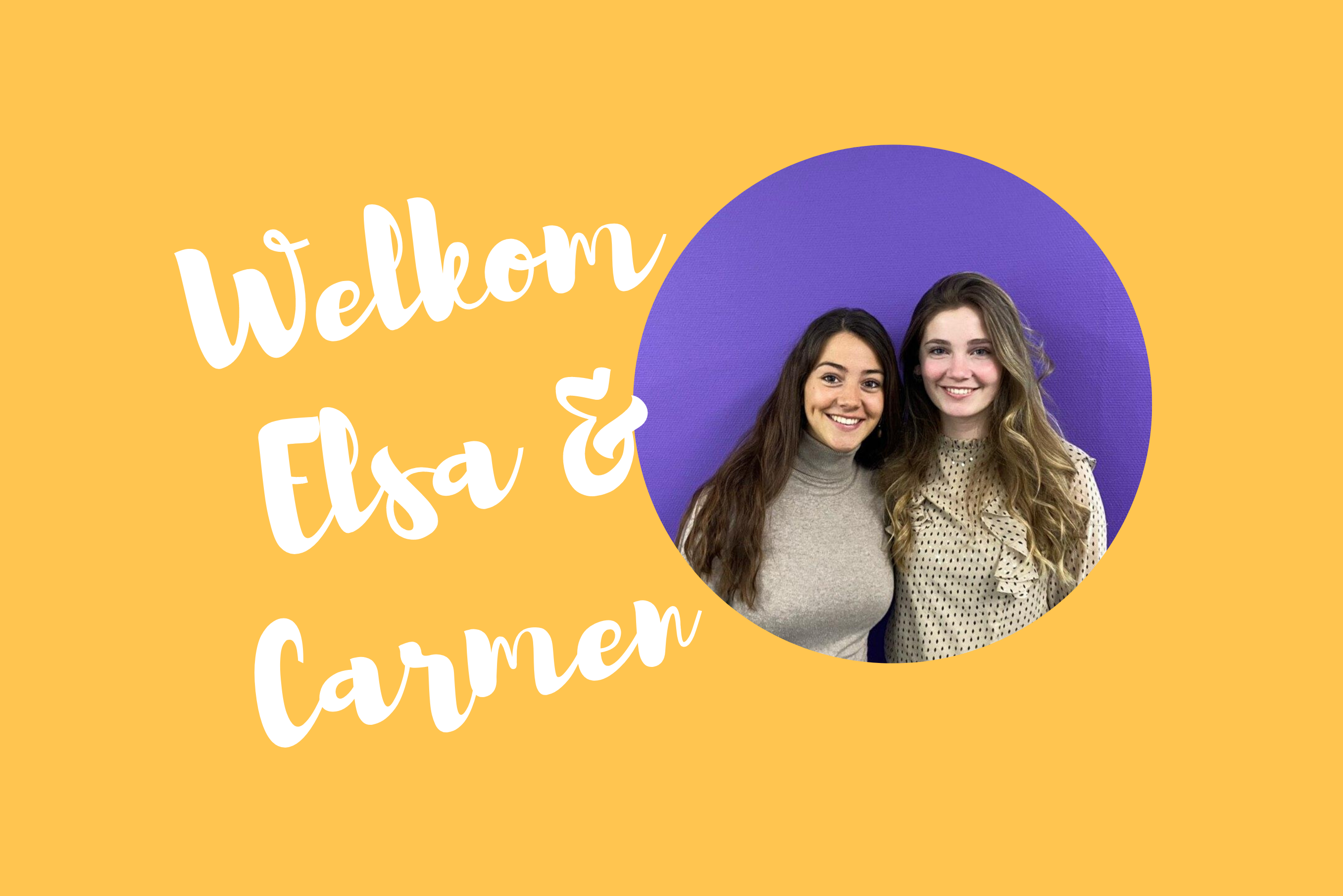 The Interns: Elsa & Carmen